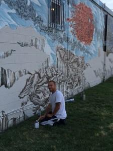 Brian Smith's Mural RVA